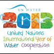TheTideOfBattle: 2013 UN International Year of Water Cooperation.