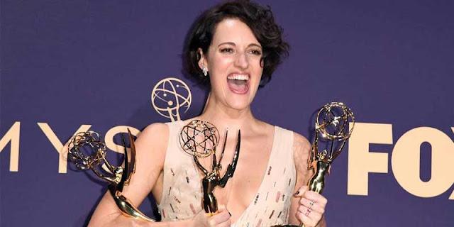 Phoebe Waller-Bridge en los Emmys 2019