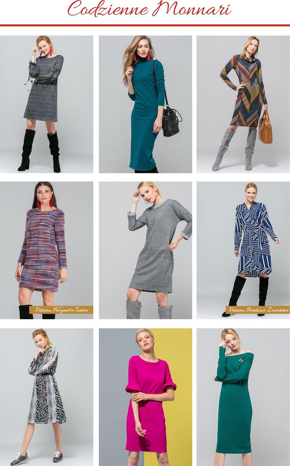 trendy jesieni 2018, modne sukienki, Reserved, babooshkastyle, stylistka, Emoi, Zara, Orsay, Monnari, Mohito, zwierzęce printy, Chanel, Dolce&Gabbana, Tom Ford, A/W 2018/19, kącik stylistki