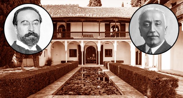 Fernando de los Ríos y Niceto Alcalá Zamora - Casa del Chapiz