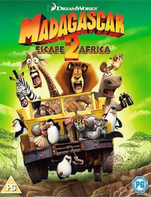 Madagascar – Escape 2 Africa 2008 Dual Audio Hindi 720p BluRay 750mb