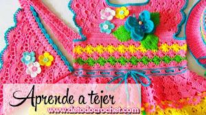 Vestido Crochet Para Niña de 7 - 8 años / Tutorial