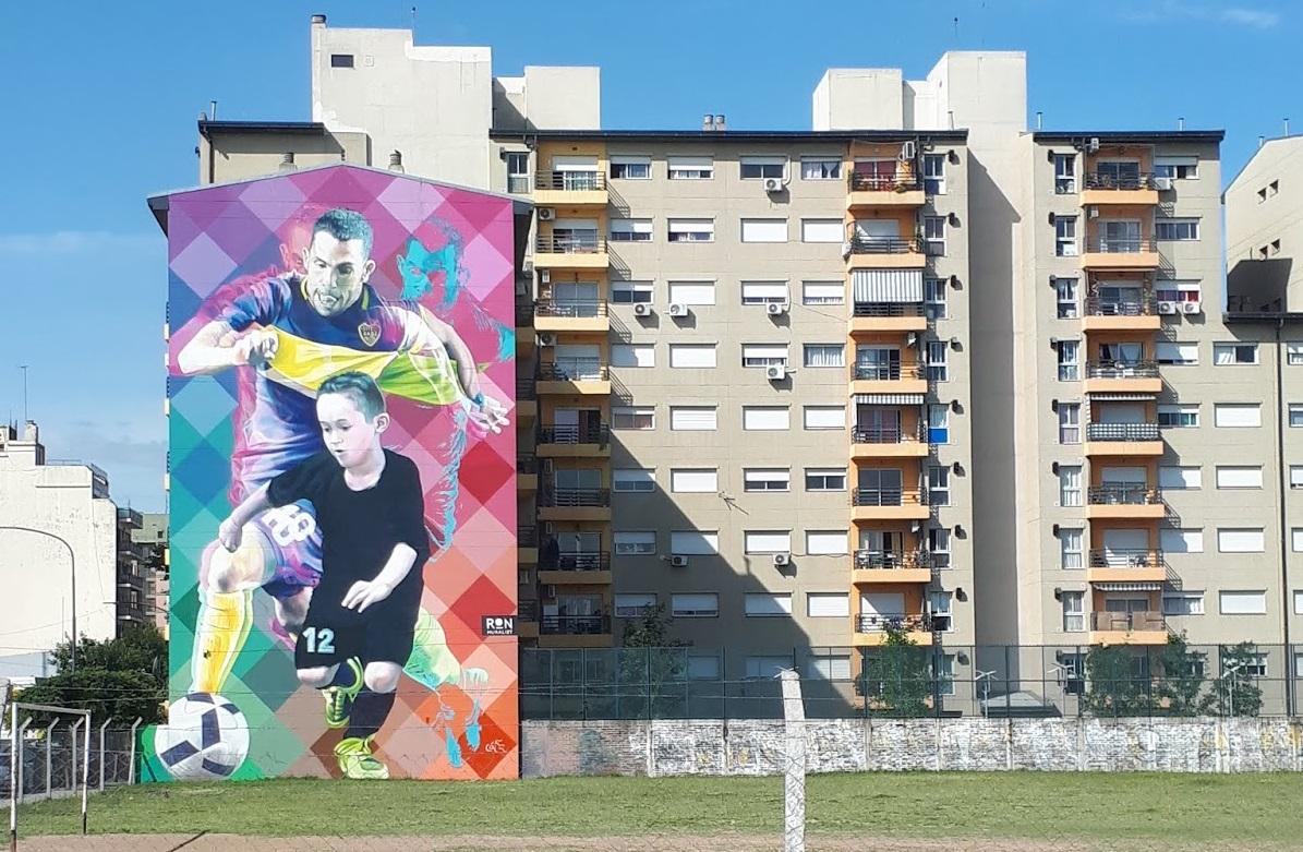 Bairro La Boca Graffiti
