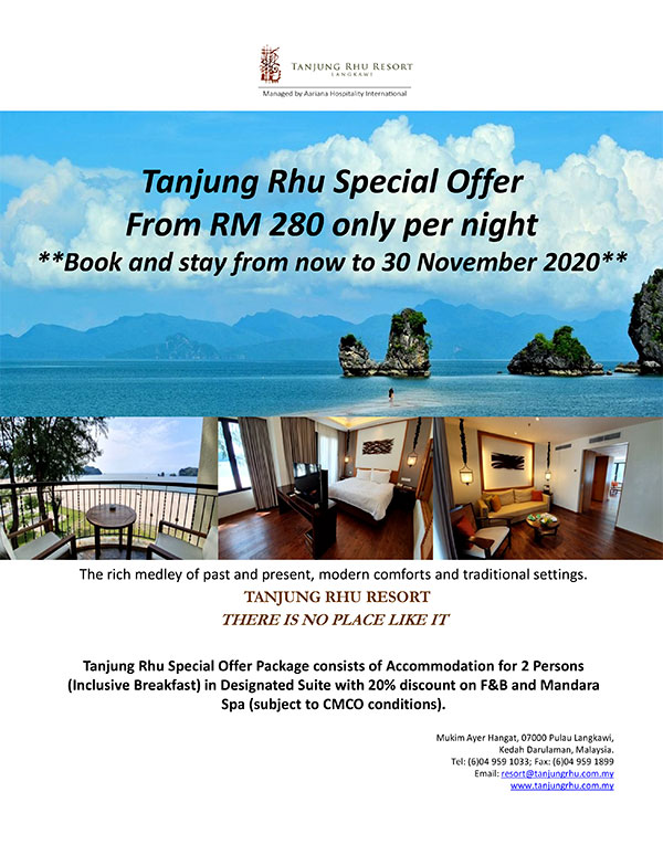 Resort Package for Langkawi Island 2020 - 2021