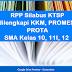 RPP Silabus SMA Kelas 10, 11, 12 KTSP dilengkapi KKM, PROMES, PROTA