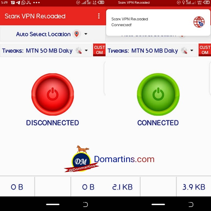 How to browse freely with stark VPN reloaded - 50MB Daily