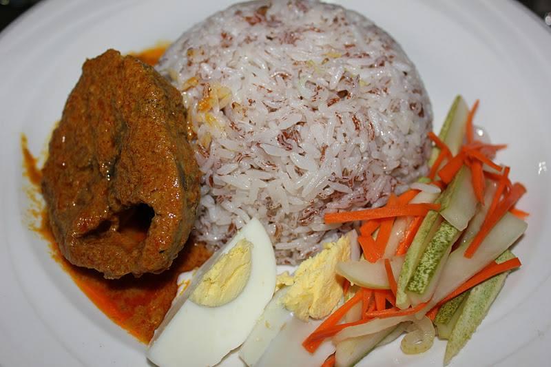 resepi nasi dagang