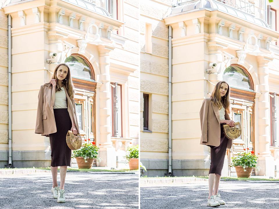 How to wear a beige tonal outfit - Kuinka pukeutua kokonaan beigeen asuun, muotibloggaaja, inspiraatio