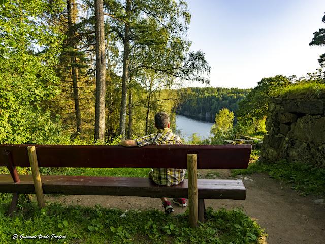 Mirador en Nøklevann - Noruega, por El Guisante Verde Project