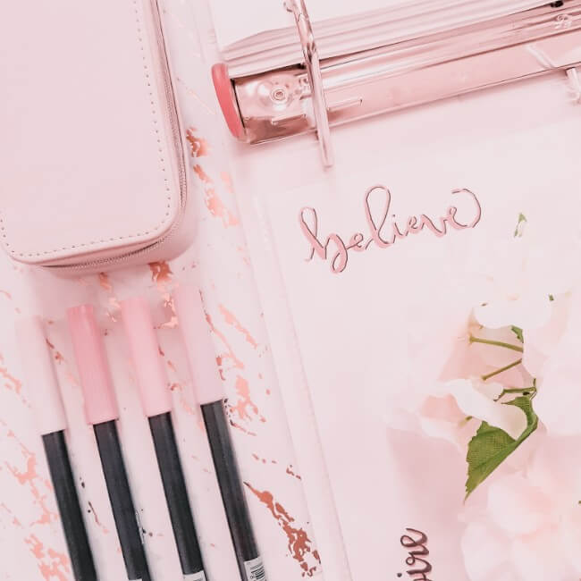 How I Made a Calligraphy Binder + You Can Too!