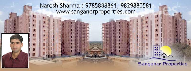 2 BHK Flats in Muhana Mandi Road, Sanganer, Jaipur