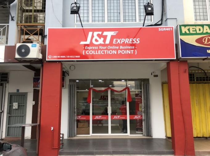 Senarai Cawangan J&T Express Negeri Selangor