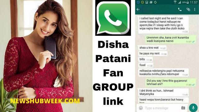 Join 10+ Disha Patani Fans WhatsApp Groups Links New Update