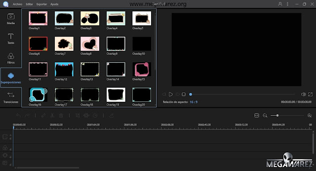 Apowersoft Video Editor 1.1.1 imagenes