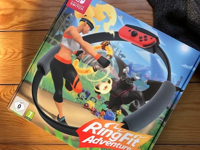 Nintendo RingFit Adventure - Zocken und nebenbei Sport machen