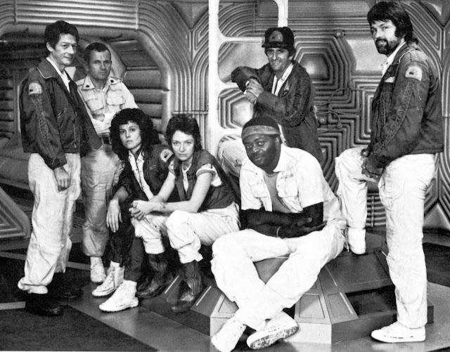 L'équipage du Nostromo dans Alien