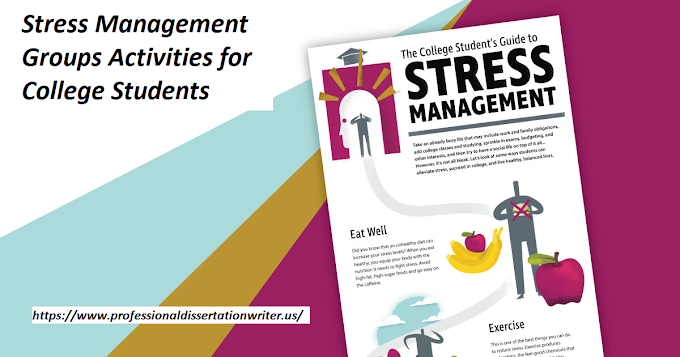 Stress Management Groups Activities for College Students