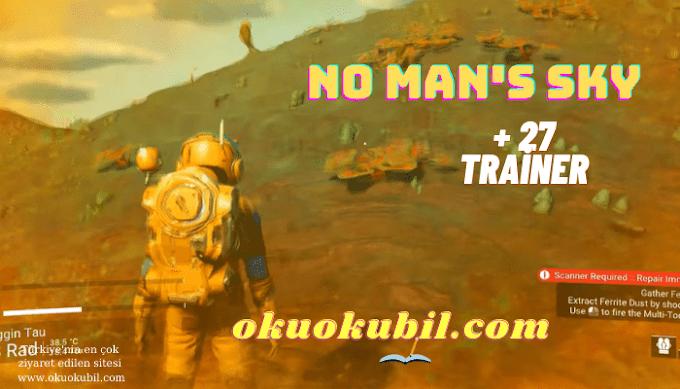 No Man's Sky: v1.5 - v3.10 Sonsuz Kalkan + Sağlık + 27 Trainer Hilesi