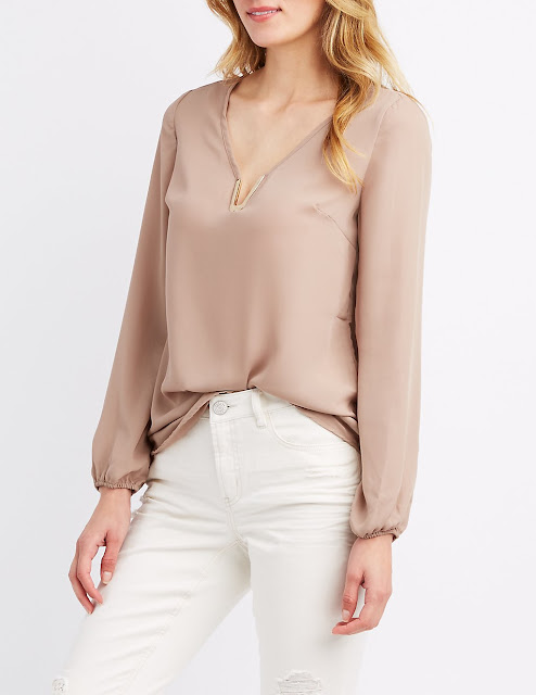 Thursday Must Haves: V-Neck Blouse | City of Creative Dreams