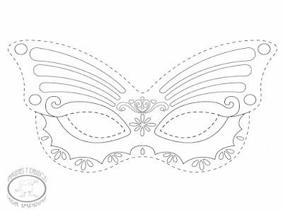 Máscara de princesa Sofia para imprimir