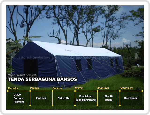 Tenda Serbaguna - Kesehatan - Bantuan Sosial