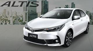 Mobil Baru Toyota New Corolla Altis 2018