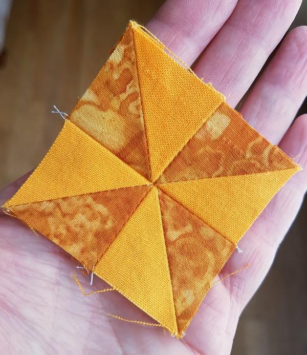 tiny pinwheel quilt block | DevotedQuilter.com