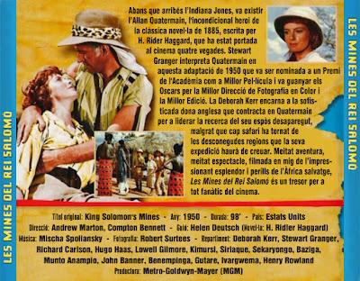 Les mines del rei Salomó - [1950]
