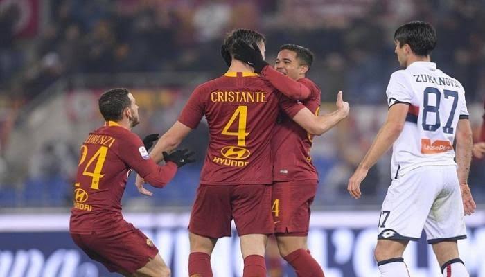 نتيجة مباراة روما وجنوى بتاريخ 25-08-2019 الدوري الايطالي