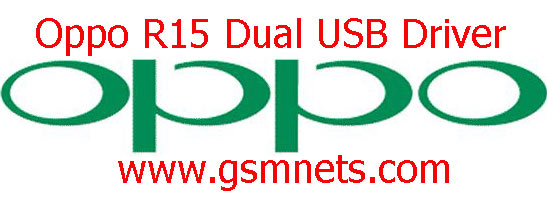Oppo R15 Dual USB Driver Download