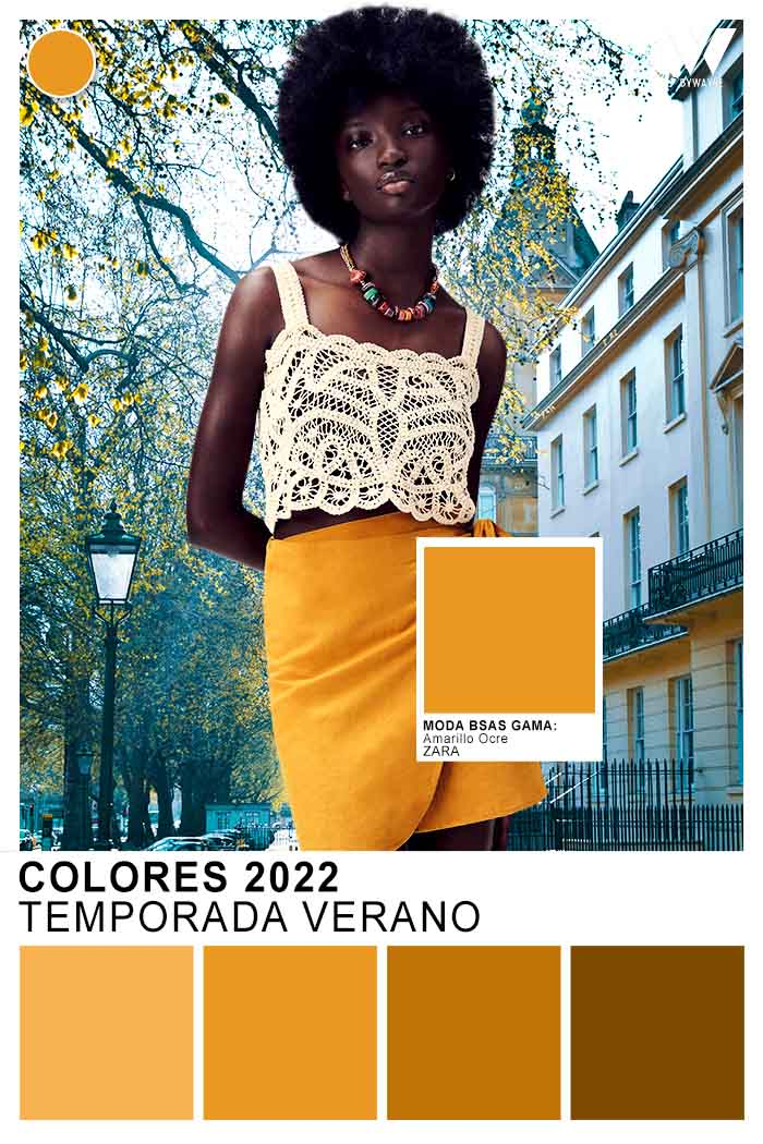 amarillos colores primavera verano 2022