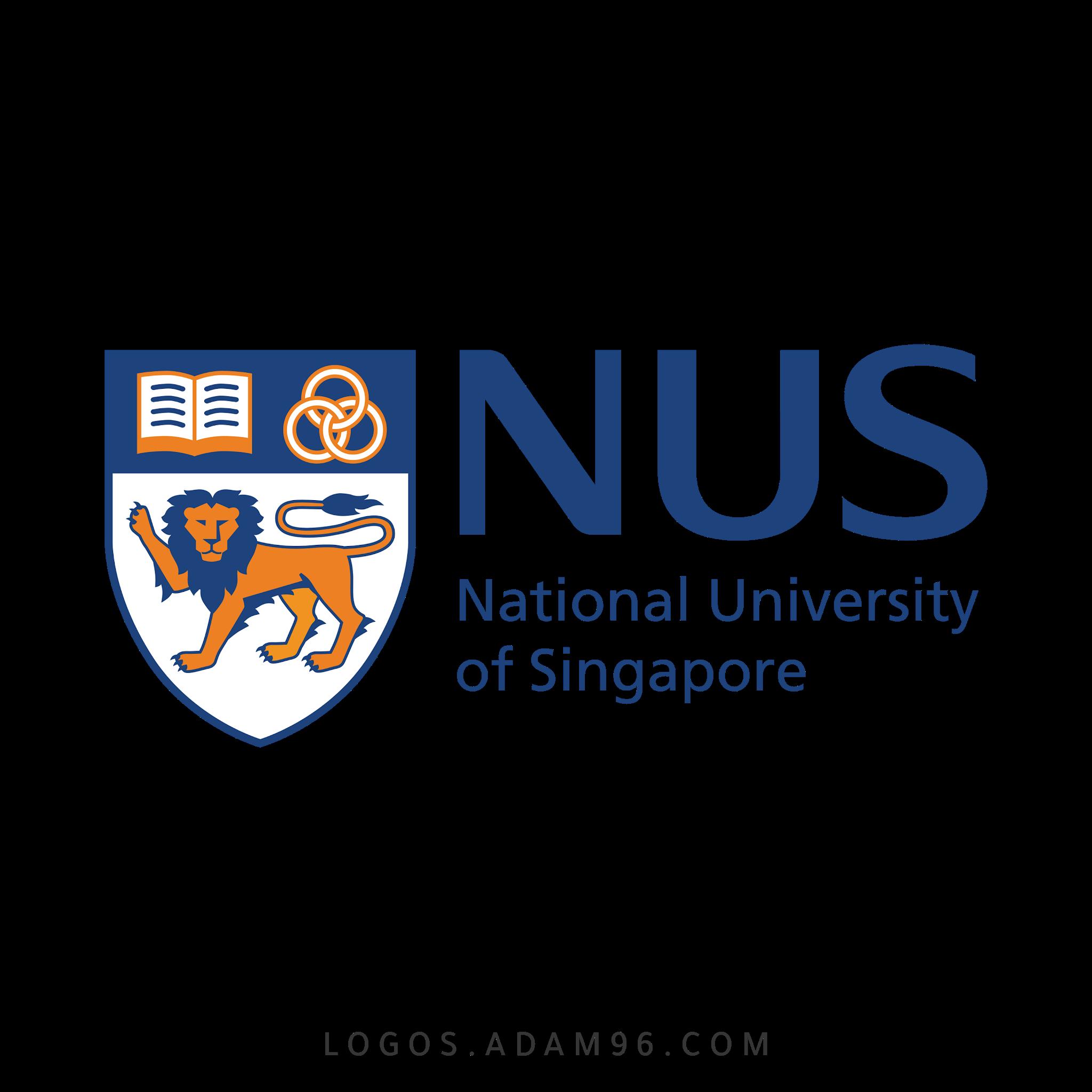 تحميل شعار جامعة سنغافورة الوطنية لوجو شفاف Logo University of Singapore PNG