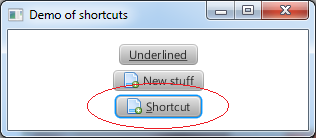 Me and my coding: Java FX 2 - Custom shortcut button