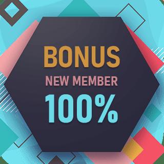 Hokicash bonus new member 100%