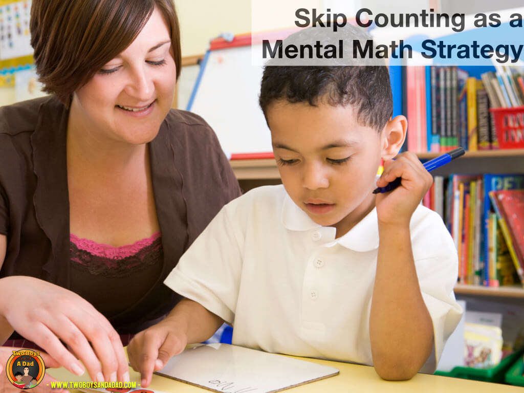 Skip counting is a foundational strategy