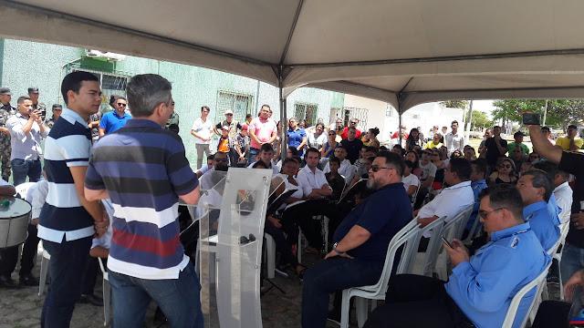Resultado de imagem para INAUGURADO NOVO SISTEMA DE INTEGRAÇÃO DE ÔNIBUS EM EXTREMOZ; VEJA O ITINERÁRIO