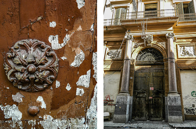 Corso Vittorio Emanuele, principal via do Centro Histórico de Palermo, Sicília