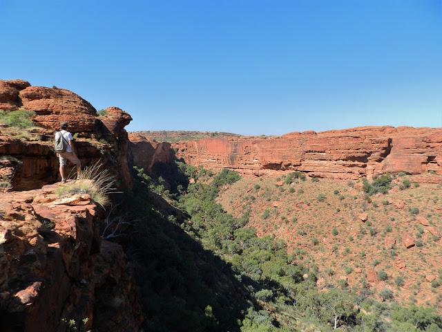 kings canyon outback australia