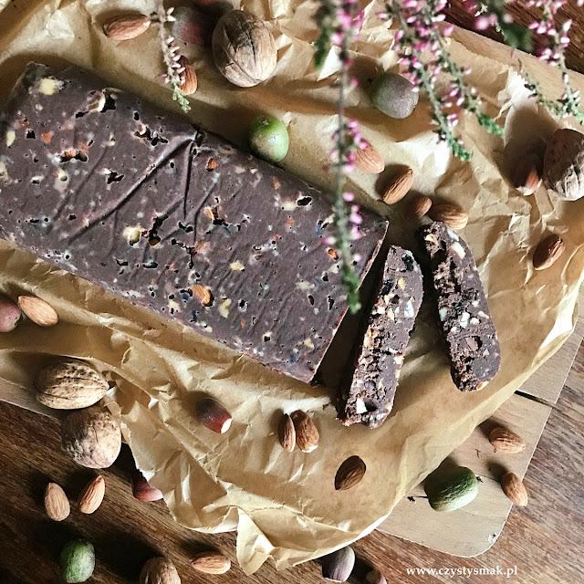 Blok czekoladowy keto