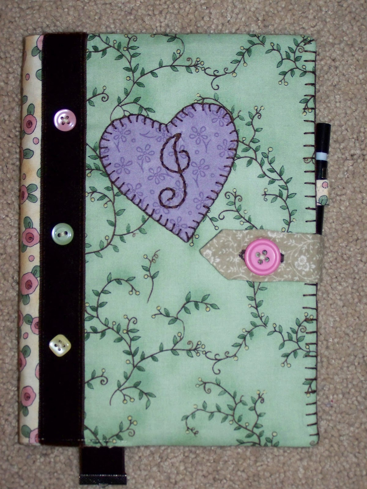 handmade covers fabric idea scraps bookcover quilts gives finally had am fr