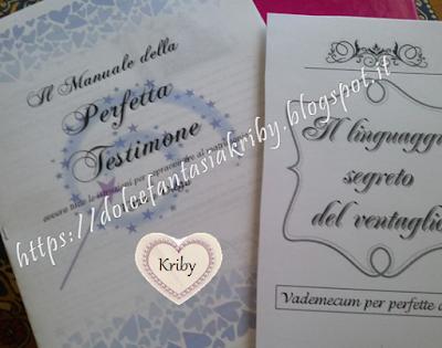 Il manuale della perfetta testimone di nozze personalizzato