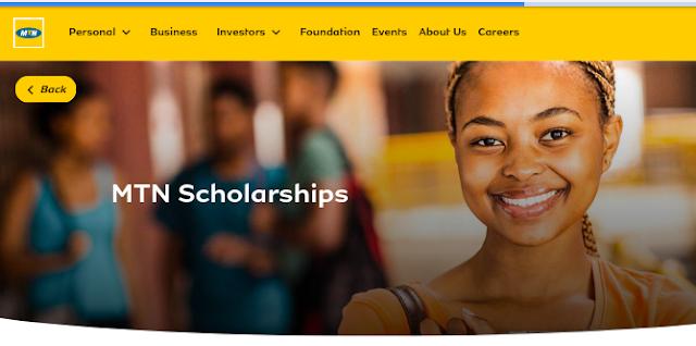5 MTN Annual Scholarships Application