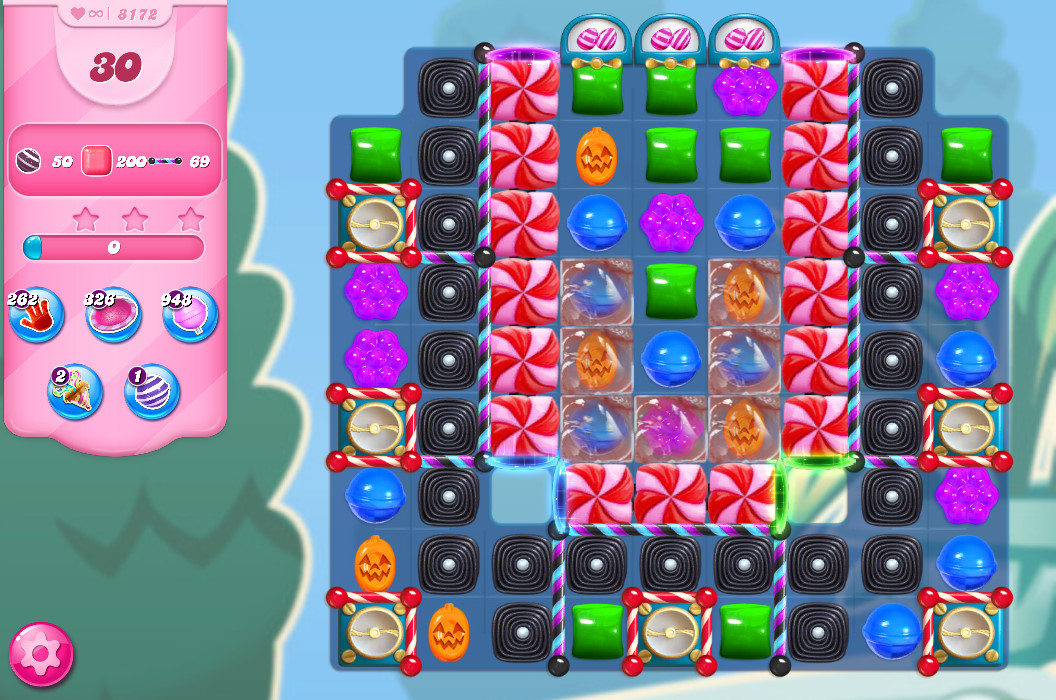 Candy Crush Saga level 8172