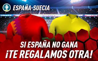 sportium promo Euro 2020 España vs Suecia 10 junio 2019