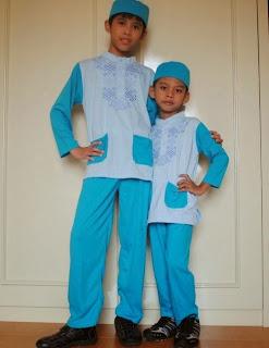 Model Baju Muslim Anak Laki-Laki 2015