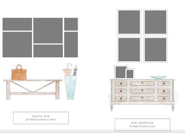 Como colocar y organizar los cuadros en una casa - Como colocar los cuadros ...