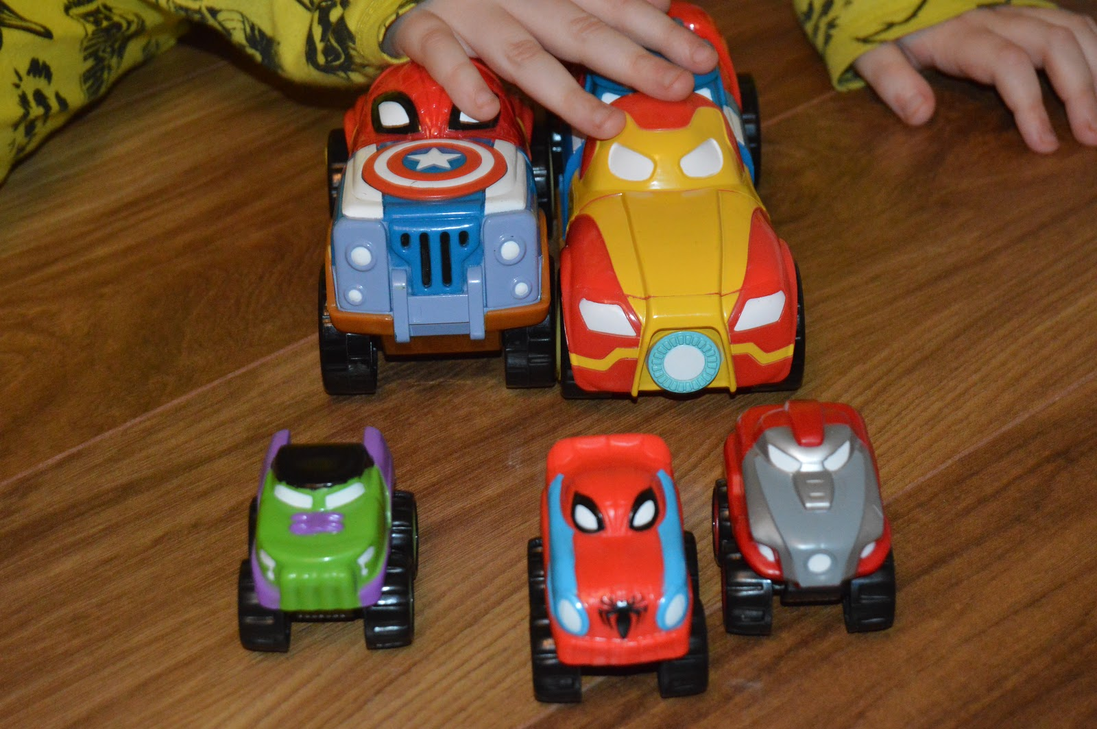 Herodrive Marvel Vehicles