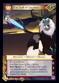 My Little Pony The Staff of Sacanas Seaquestria and Beyond CCG Card
