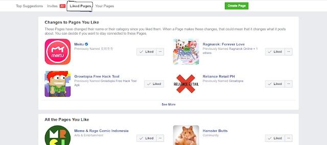 This is how you differ from the Facebook fan page