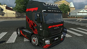Iveco Hi-Way zBlack Hawk skin mod